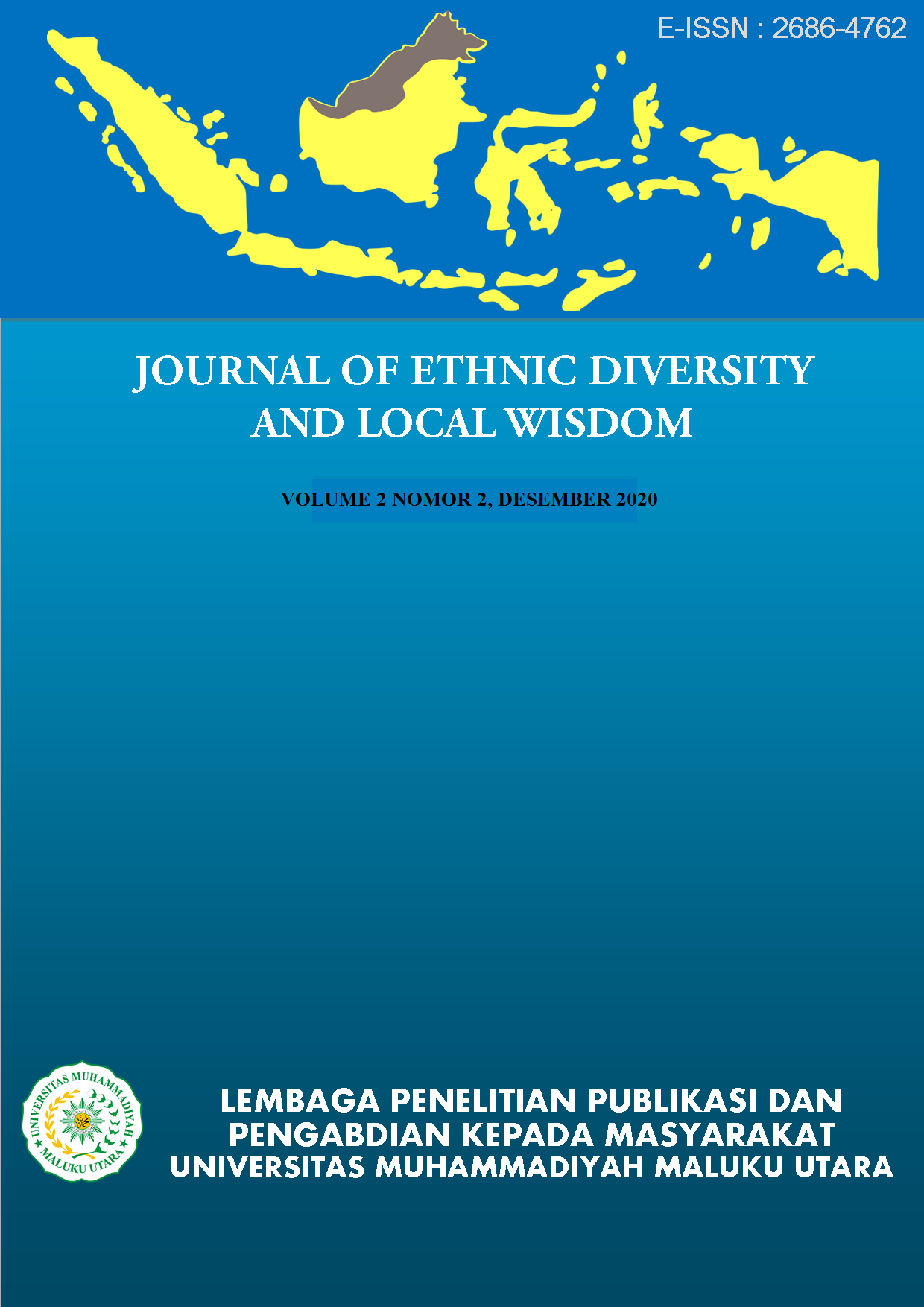 Journal Of Ethnic Diversity And Local Wisdom